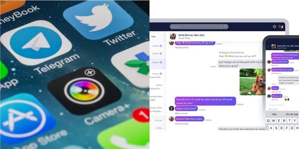 Crean app que permite usar a la vez WhatsApp, Telegram y Signal