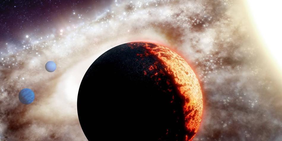Descubren 'supertierra' de 10 mil millones de años