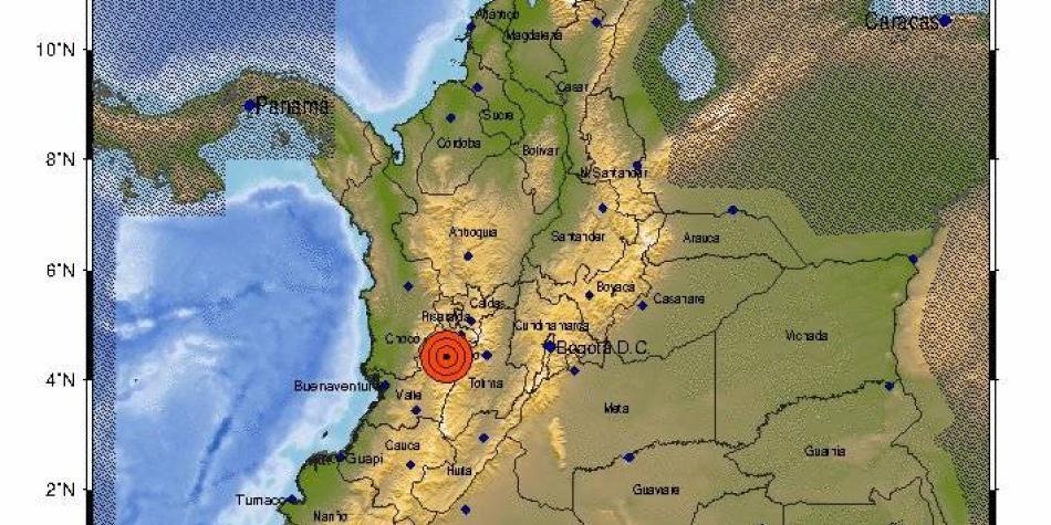 Fuerte sismo de 5.1 grados se sintió en varias zonas del país