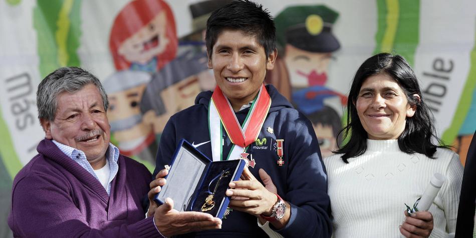Nairo Quintana recibe la mejor noticia respecto a la salud de su papá