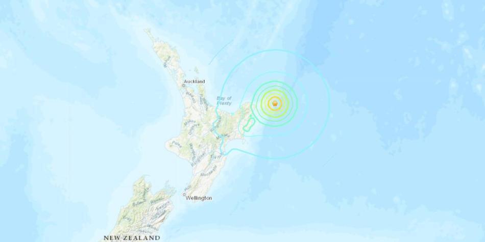 Terremoto Nueva Zelanda: sin alerta de tsunami en Pacífico colombiano