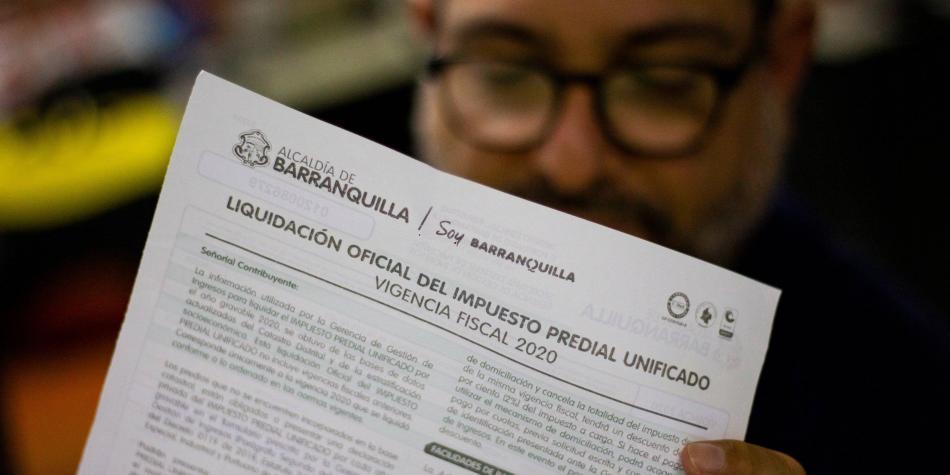 Así puede tramitar el impuesto predial en Barranquilla