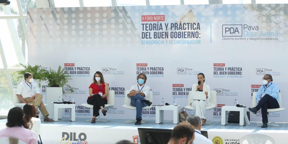 Mentira, tema que puso a discutir a Fajardo y Valencia en Barranquilla