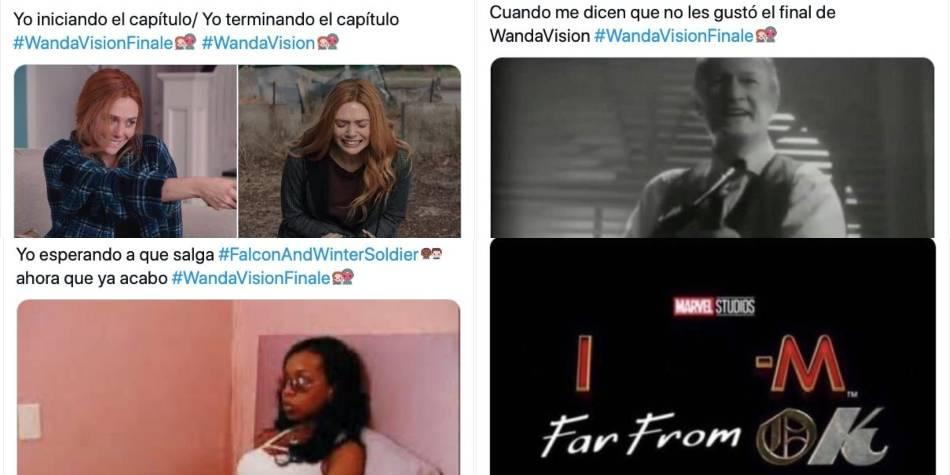 ¿Cómo estuvo el final de 'WandaVision'? Esto 'dicen' los memes