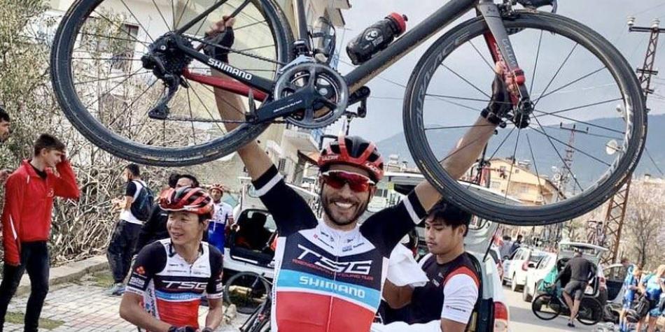Otra gran victoria del ciclismo colombiano