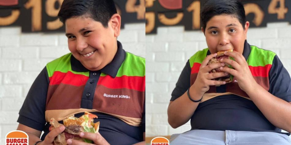 Niño del Oxxo llega como cajero de Burger King - Gente - Cultura - ELTIEMPO.COM
