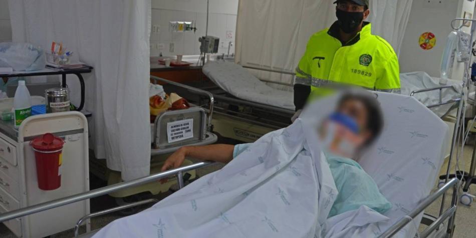 Intentó atracar en un bus y murió tras ser golpeado por pasajeros