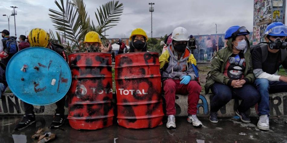 Integrantes de primeras líneas del país llegarán a Bogotá - Bogotá -  ELTIEMPO.COM
