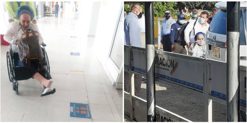 Piedad Córdoba: habría ingresado en silla de ruedas desde Venezuela -  Investigación - Justicia - ELTIEMPO.COM