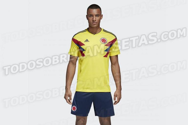 ba596d99869a8 Esta sería el uniforme de la Selección Colombia en Rusia 2018 - Fútbol  Internacional - Deportes - ELTIEMPO.COM