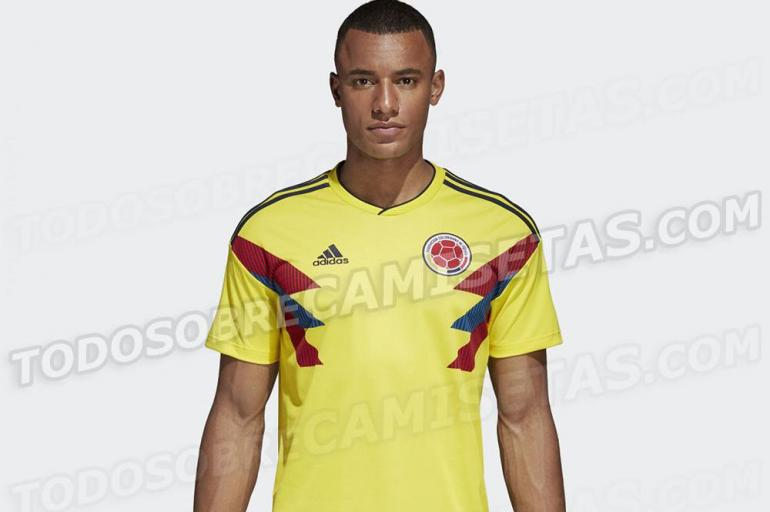 Esta sería el uniforme de la Selección Colombia en Rusia 2018 - Fútbol  Internacional - Deportes - ELTIEMPO.COM 7fdb92871f2a1