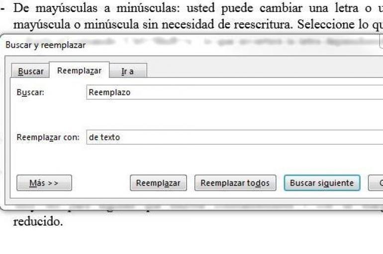 Comandos de Microsoft Word 10