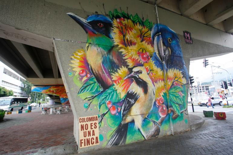 Graffitis en Colombia