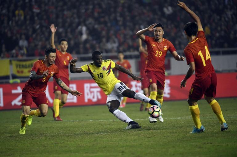 Las mejores fotos del partido de la Selección Colombia