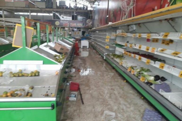Resultado de imagen para Saquean en Colombia supermercados relacionados con la exguerrilla de la FARC