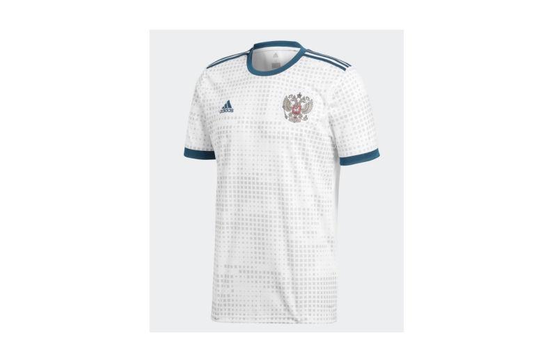 6290520925aef Camisetas suplentes de selecciones de Rusia 2018 - Fútbol ...