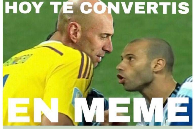 Los mejores memes de la goleada de Croacia contra Argentina