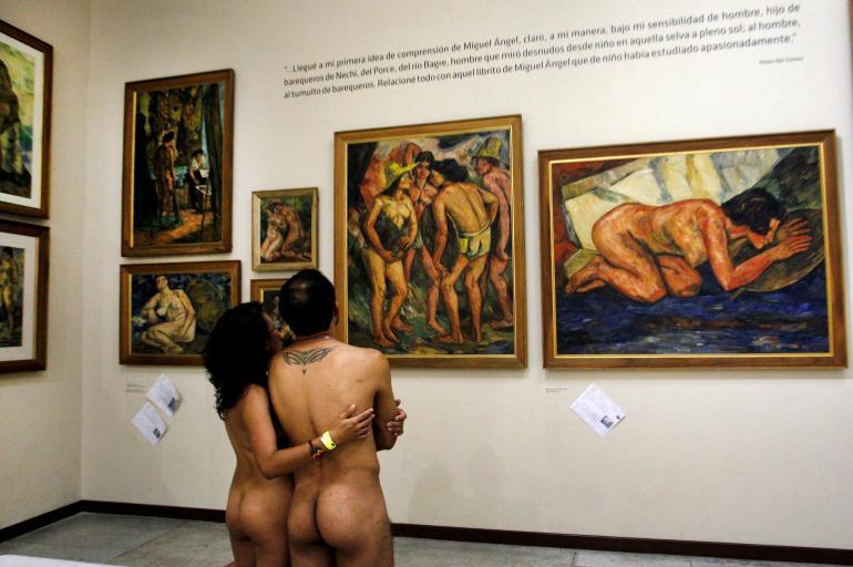 Desnudos Museo Pedro Nel Gómez