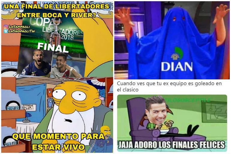 51e110eca Los memes más divertidos de la semana: final Boca - River, goleada ...
