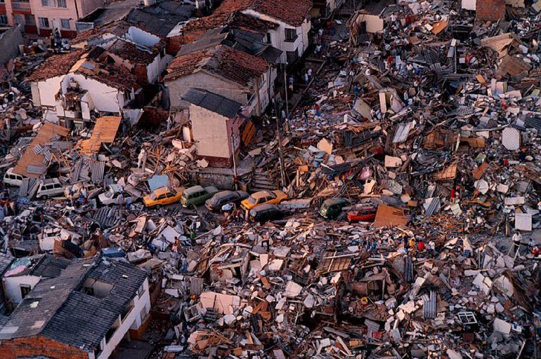 Terremoto de Armenia, historia 1