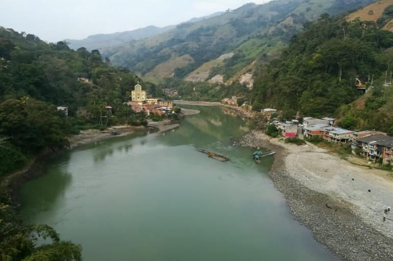 Sequía en Valdivia por Hidroituango
