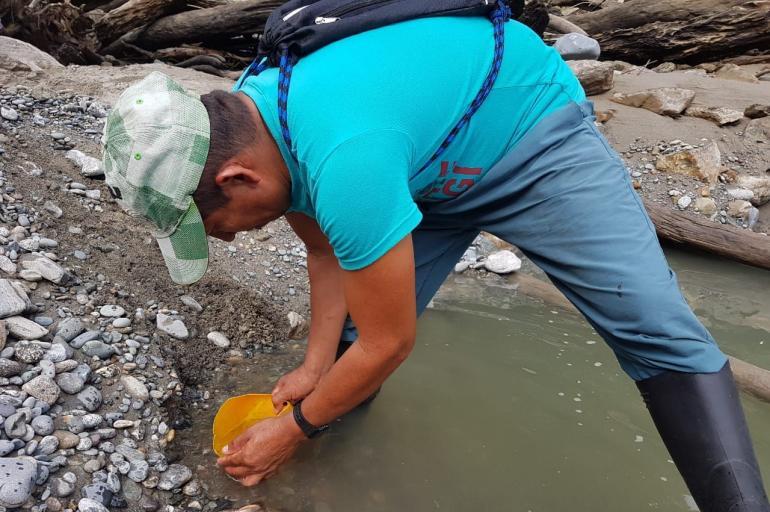 sequía en río Cauca