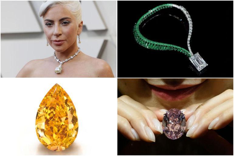 55027550b6f43 Collar de Lady Gaga y las joyas más caras de todo el mundo - Gente ...