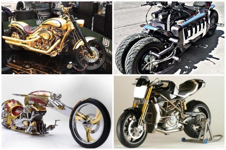Vea las motocicletas más caras del mundo