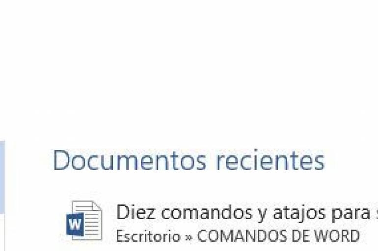 Comandos de Microsoft Word 11