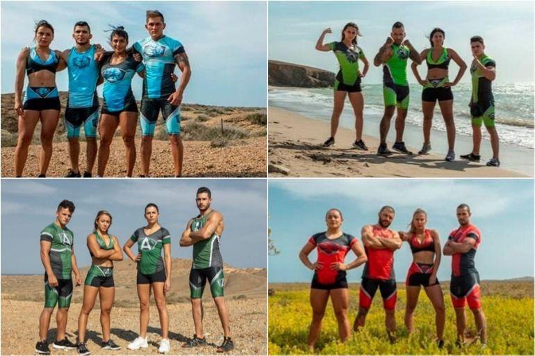 Fotos de los participantes del Desafío 2019