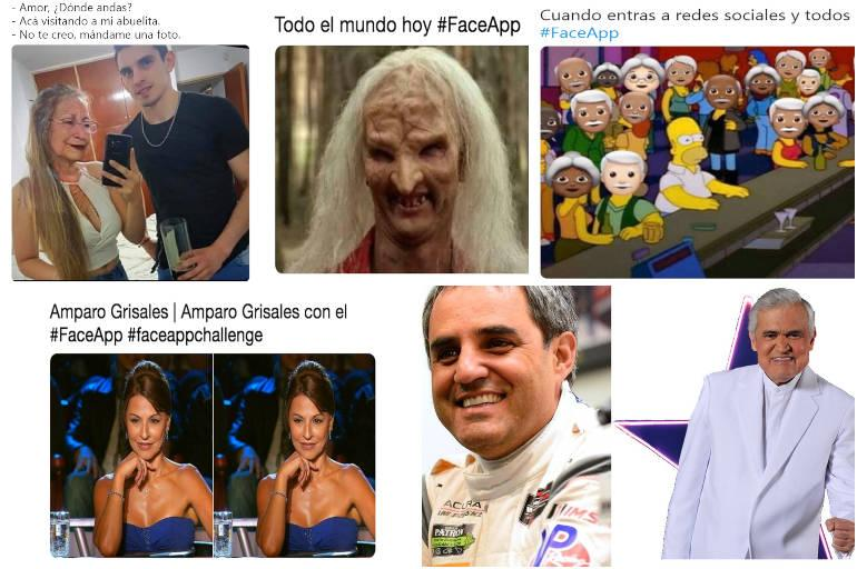 Memes De Faceapp Y Filtro De Cara De Anciano Montoya Y Jorge