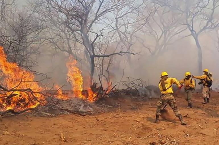 Incendio Bolivia Amazonas