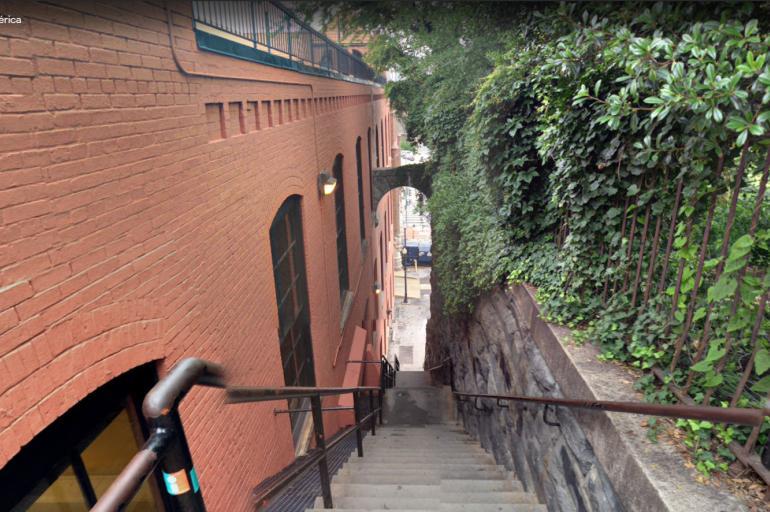 """Las escaleras de """"El Exorcista"""""""