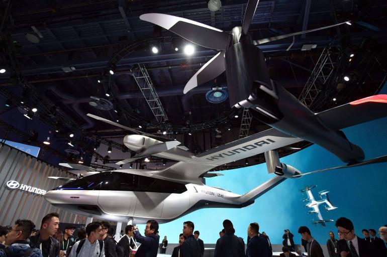 Hyundai prototipo auto volador
