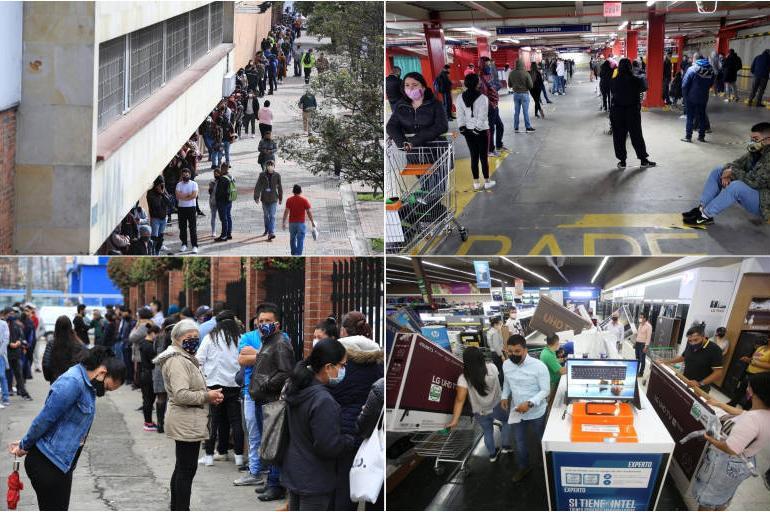 Día Sin Iva La Jornada Del Día Sin Iva En Colombia 19 De Junio Del 2020 En Imágenes Bogotá Eltiempo Com