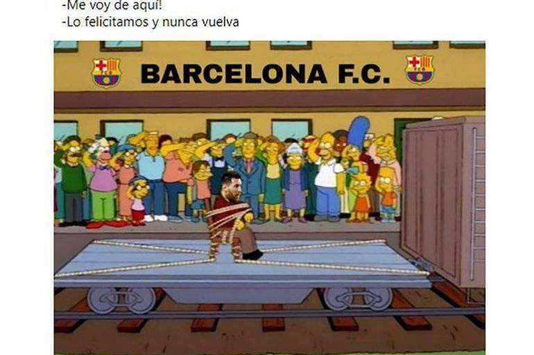 Messi Los Memes De La Posible Salida De Lionel Del Fc Barcelona Futbol Internacional Deportes Eltiempo Com