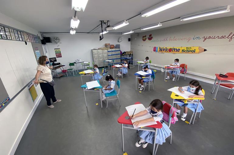 Colegios privados de Medellín regresan a clases en pandemia - Medellín -  Colombia - ELTIEMPO.COM