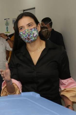 La secretaria de Salud de Cali, Miyerlandi Torres Agredo.