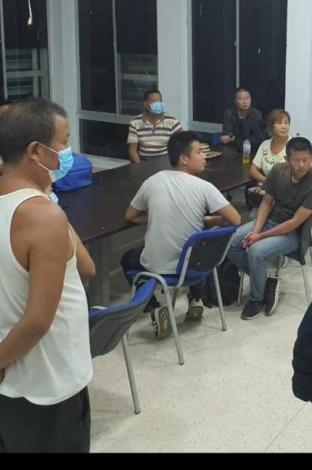 Chinos capturados por minería ilegal
