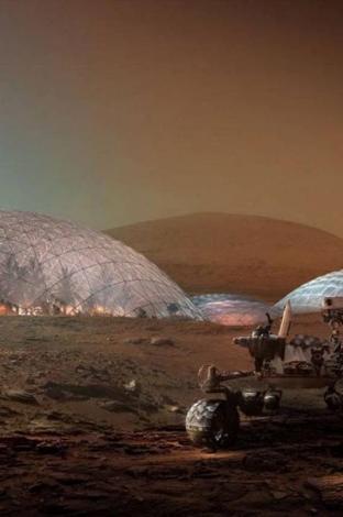 Nüwa, proyecto de ciudad en Marte