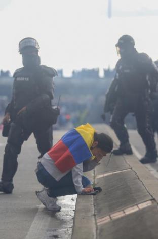 Enfrentamientos Esmad Américas.