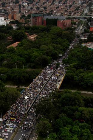 Paro Nacional en Medellín