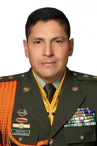 Brigadier general Alejandro Barrera