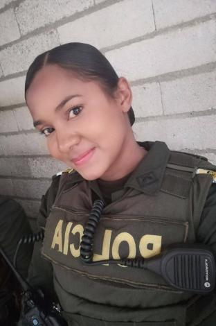 Patrullera Astrid Salas Rocha