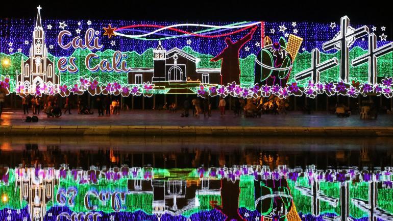 Fotos De Colombia En Navidad.La Sucursal Del Cielo Se Ilumina Para Navidad