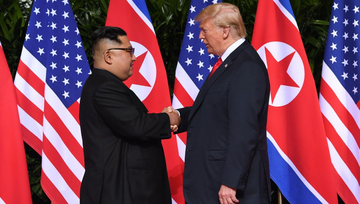 Reunión entre Donald Trump y Kim Jong Un