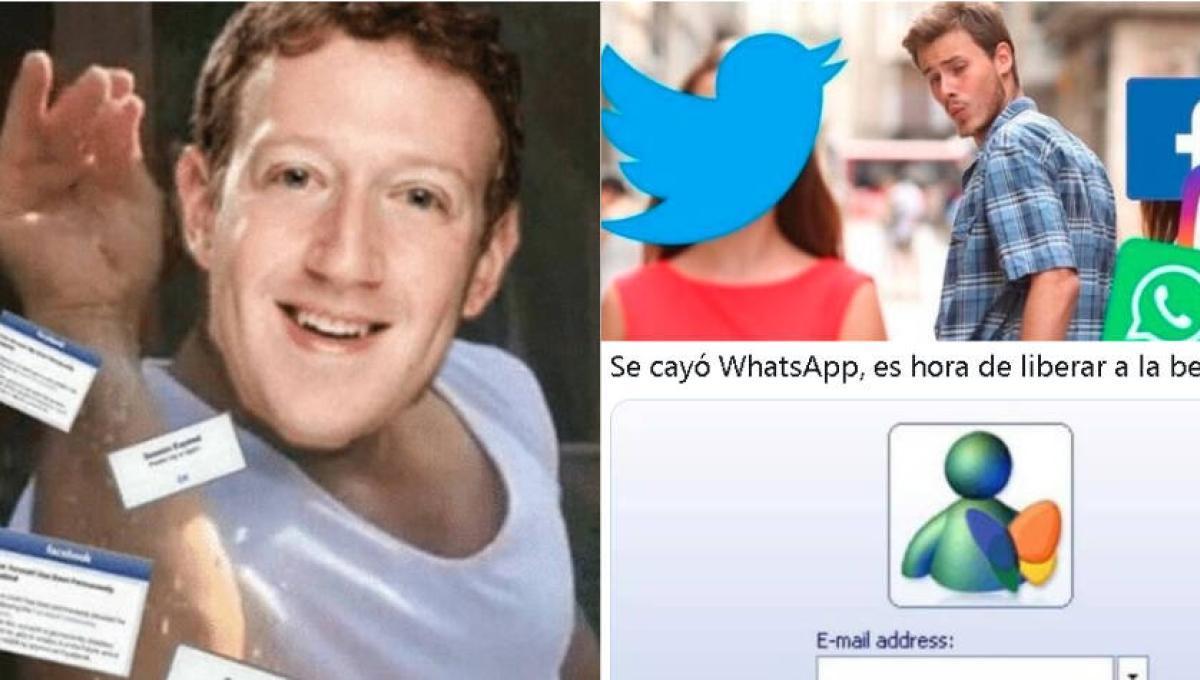 Memes de la caída de WhatsApp y Facebook - Novedades Tecnología -  Tecnología - ELTIEMPO.COM