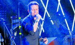 Fonseca durante un concierto en Cartagena