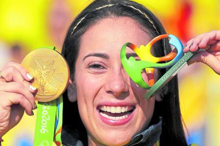Mariana Pajón cuestiona a Nairo y apoya a Fedeciclismo