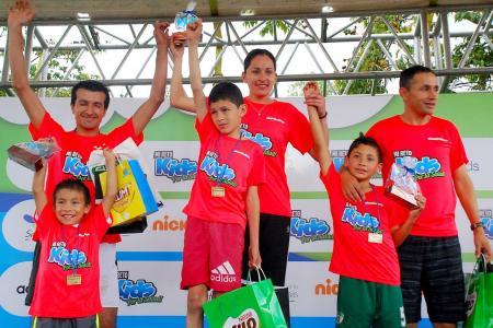 Hijos de los campeones de atletismo correrán en Mi Reto Kids